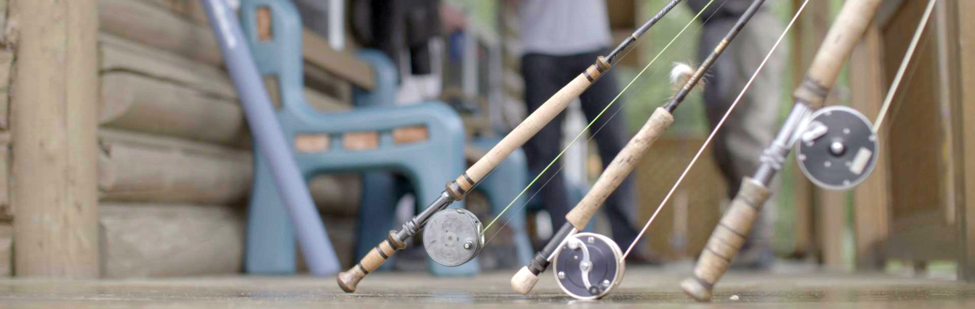 3 fly fishing rods